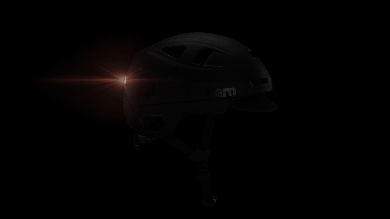Black Bern Hudson Helmet from Flow scooters