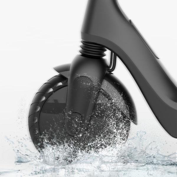 Waterproof electric scooter