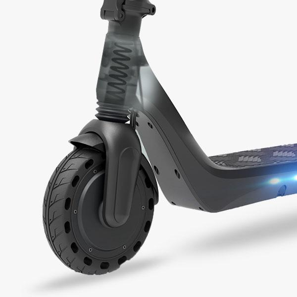 Koenji Flow electric scooter suspension