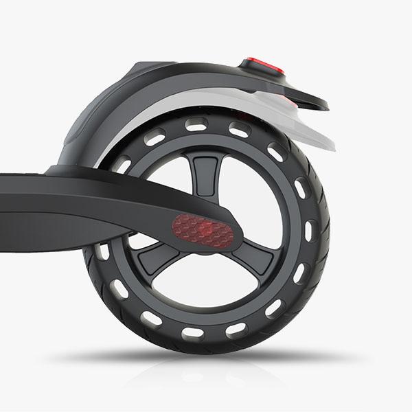 Flow Koenji Electric Scooter back wheel